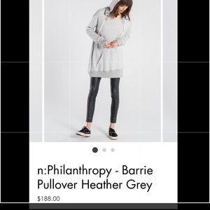 n:philanthropy sweatshirt NWT RETAIL $188